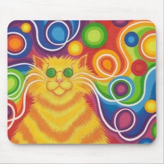 Psy-cat-delic mousepad