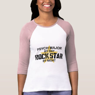 Psych Major Rock Star by Night T Shirt