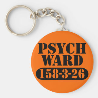 Psych Ward Key Ring