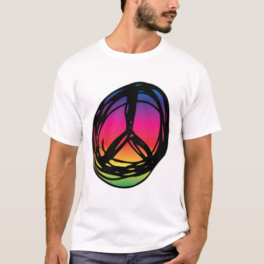 Psychadelic peace sign T-Shirt