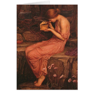 Psyche and Golden Box Card