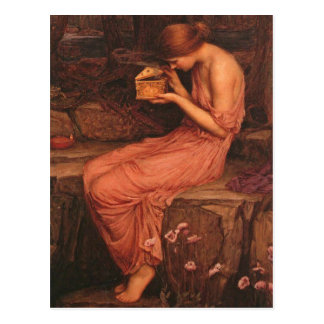 Psyche and Golden Box Postcard