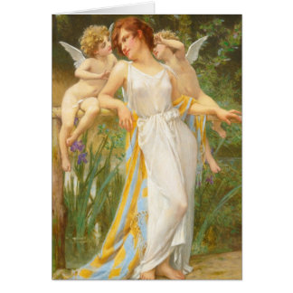 Psyche and Little Cupids Card