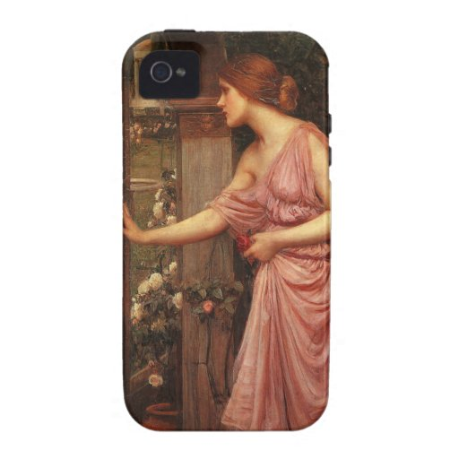 Psyche Entering Cupid's Garden by Waterhouse iPhone 4 Cover