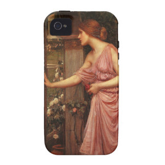 Psyche Entering Cupid's Garden by Waterhouse Vibe iPhone 4 Cover