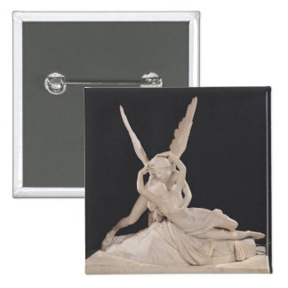 Psyche Revived by the Kiss of Cupid 1787-93 15 Cm Square Badge