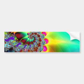 Psychedelic 12 - Fractal Bumper Sticker