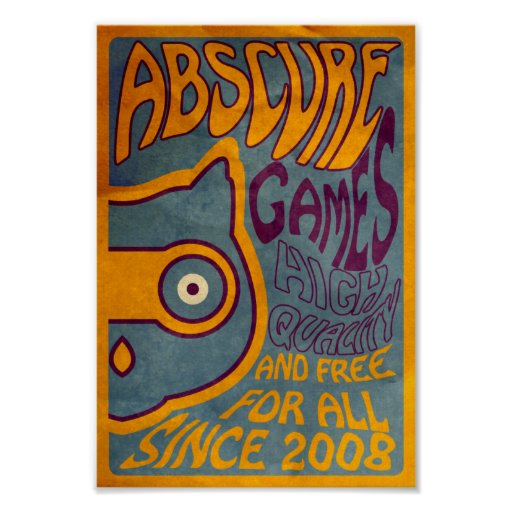 Psychedelic Abscure Posters