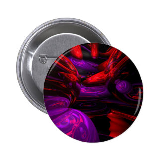 Psychedelic Abstract Button