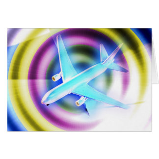 Psychedelic Aeroplane Cards