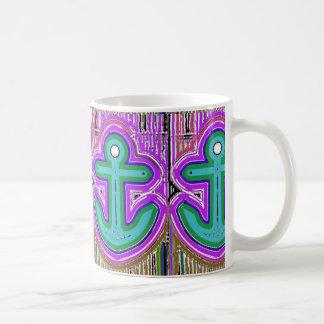 Psychedelic Anchor Mug