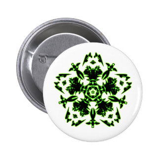 Psychedelic badge n°2 pinback button
