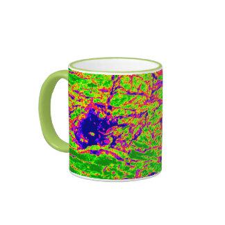 psychedelic bark ringer mug