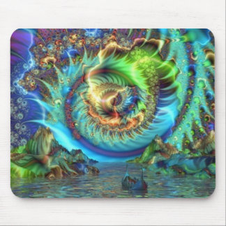 Psychedelic Bay Mouse Mat