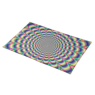Psychedelic Beat American MoJo Placemats