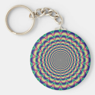 Psychedelic Beat Keychain