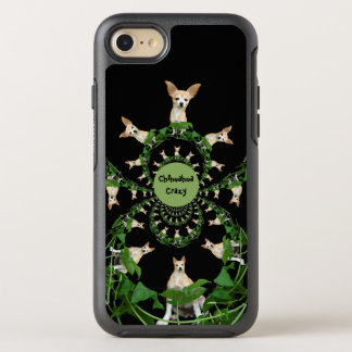 Psychedelic Beige And White Chihuahua Funny OtterBox Symmetry iPhone 8/7 Case