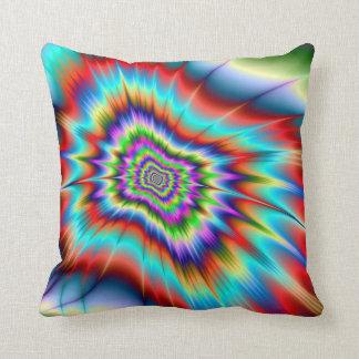 Psychedelic Blast Cushion