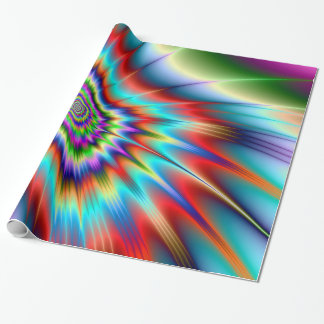 Psychedelic Blast Wrapping Paper
