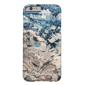 Psychedelic Blue iPhone Case Barely There iPhone 6 Case