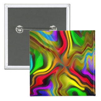 Psychedelic Breakfast 15 Cm Square Badge