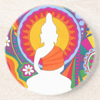 Psychedelic Buddha Drink Coasters