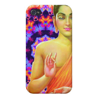 Psychedelic Buddha iPhone 4 Cover