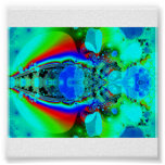 psychedelic bug- poster