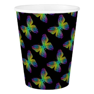 Psychedelic butterfly.