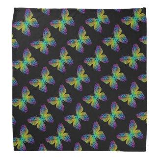 Psychedelic butterfly. head kerchiefs