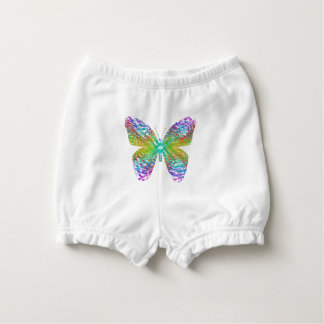 Psychedelic butterfly. nappy cover