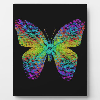 Psychedelic butterfly. plaque
