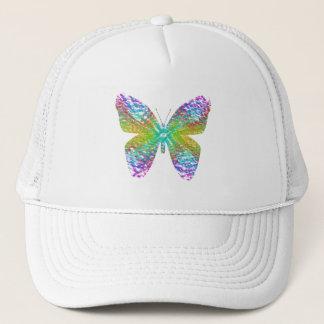 Psychedelic butterfly. trucker hat