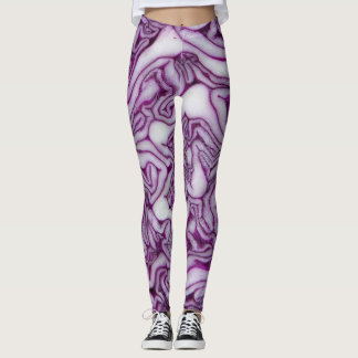 Psychedelic Cabbage Leggings