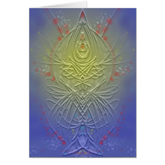 Psychedelic Card