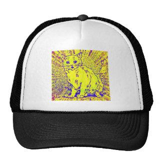 Psychedelic Cat Artwork Cap