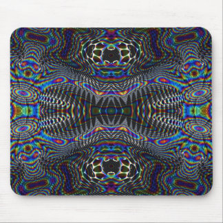 Psychedelic cells mouse mat