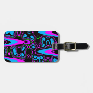 psychedelic cells purple blue.jpg luggage tag