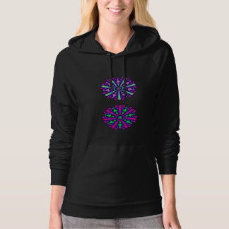 Psychedelic Chakras sweater n°2 Hooded Pullovers