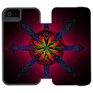 Psychedelic Chaos - Choose Your Color! Incipio Watson™ iPhone 5 Wallet Case