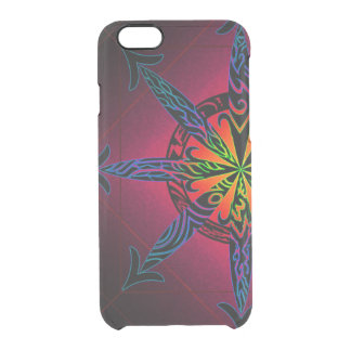 Psychedelic Chaos Clearly Deflector Clear iPhone 6/6S Case