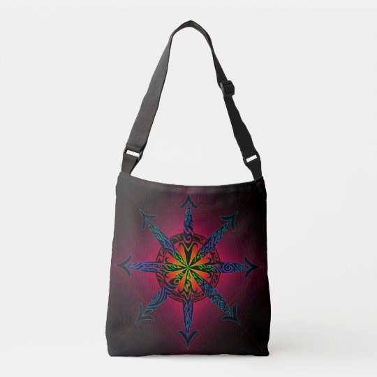 Psychedelic Chaos Crossbody Bag