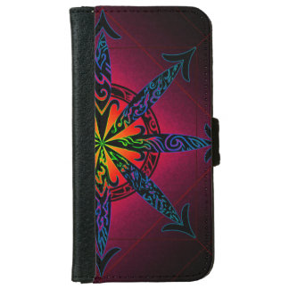 Psychedelic Chaos iPhone 6 Wallet Case