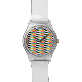 Psychedelic Chevrons May28th Watch