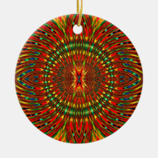 Psychedelic Christmas Ornament
