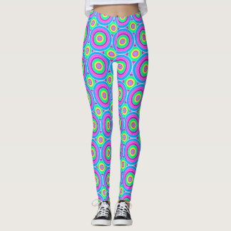 Psychedelic Circles Leggings
