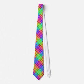 Psychedelic Circles Neck Tie