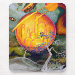Psychedelic City Mouse Pad