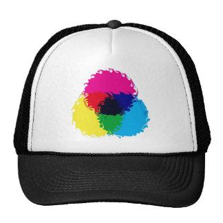 Psychedelic CMYK Cap