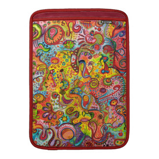 Psychedelic Colorful Abstract Macbook Air Sleeve